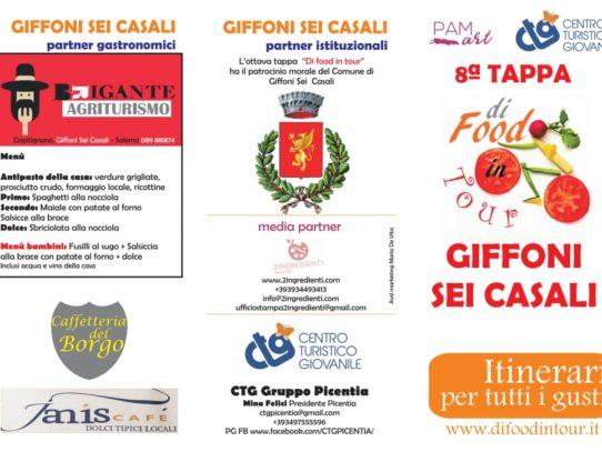 10 MARZO - FOOD IN TOUR A GIFFONI SEI CASALI