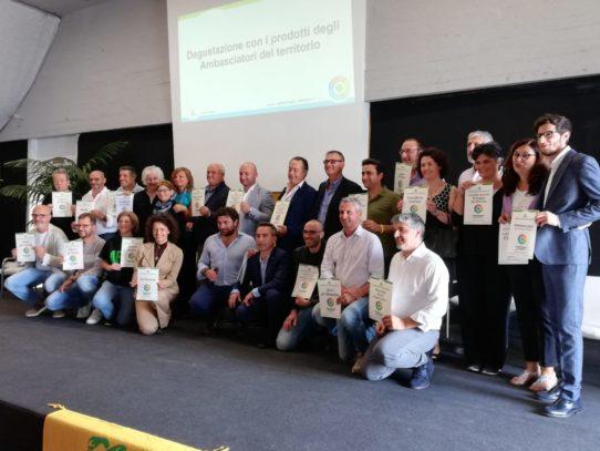 GLI AMBASCIATORI DEL CILENTO AL FORUM AGROECOLOGIA CIRCOLARE