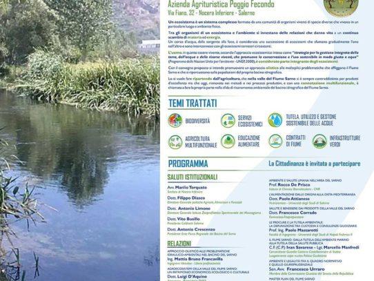 Il fiume Sarno come ecosistema complesso: ripartire dalla terra per coltivare Un approccio olistico a problematiche antiche