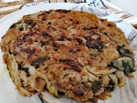 PIZZA DI SCAROLE E PANE (MESCITE)