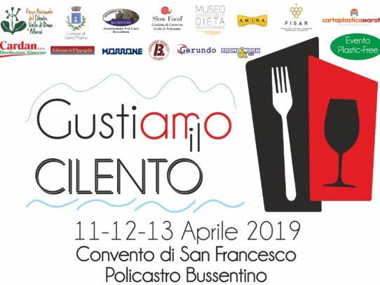 GUSTIAMO IL CILENTO - 11/2/13 APRILE 2019 PRESSO IL CONVENTO DI SAN FRANCESCO A POLICASTRO BUSSENTINO