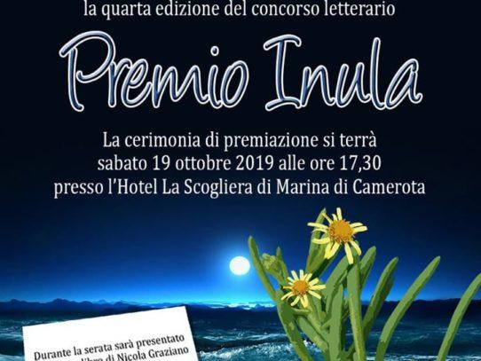 SCRITTORI E ARTISTI DA TUTTA ITALIA A CAMEROTA PER IL PREMIO INULA
