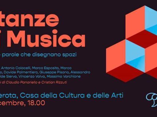 """La Casa della Cultura e delle Arti a Camerota ospiterà """"Stanze di Musica"""""""